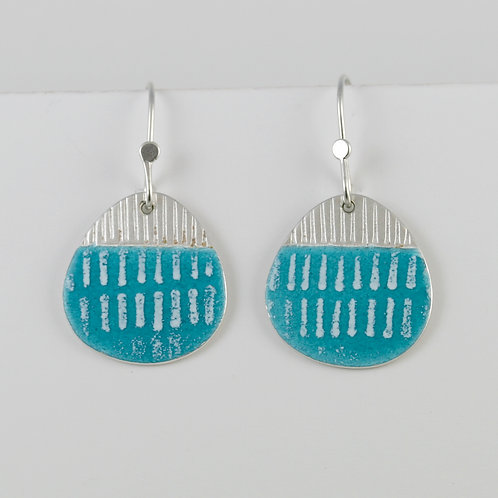 Island Drop Earrings - various colours, made to order