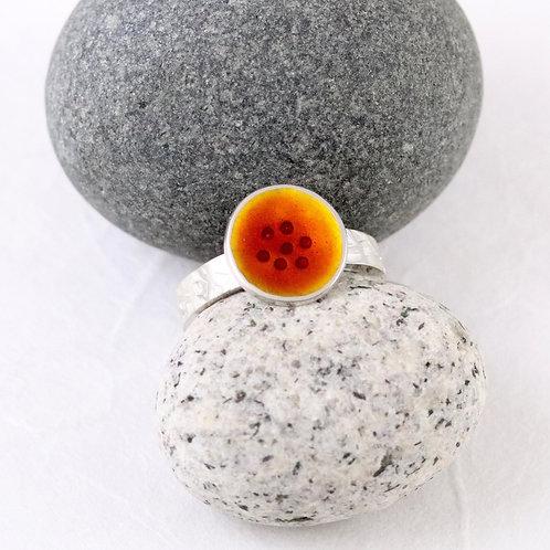 Tidal Ring - Burnt Orange P