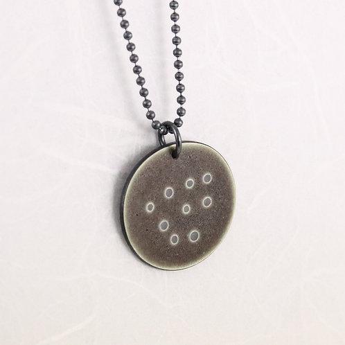 Sealife Pendant, small - warm grey