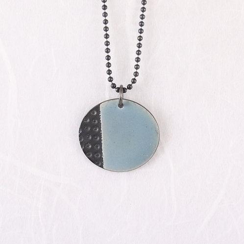Island Pendant small Blue-grey