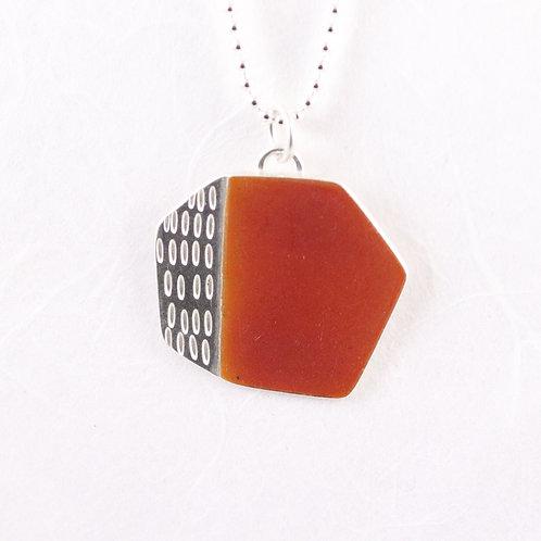 Basalt Pendant - orange