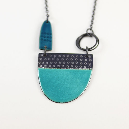 Tidal Necklace - Turquoise & Teal