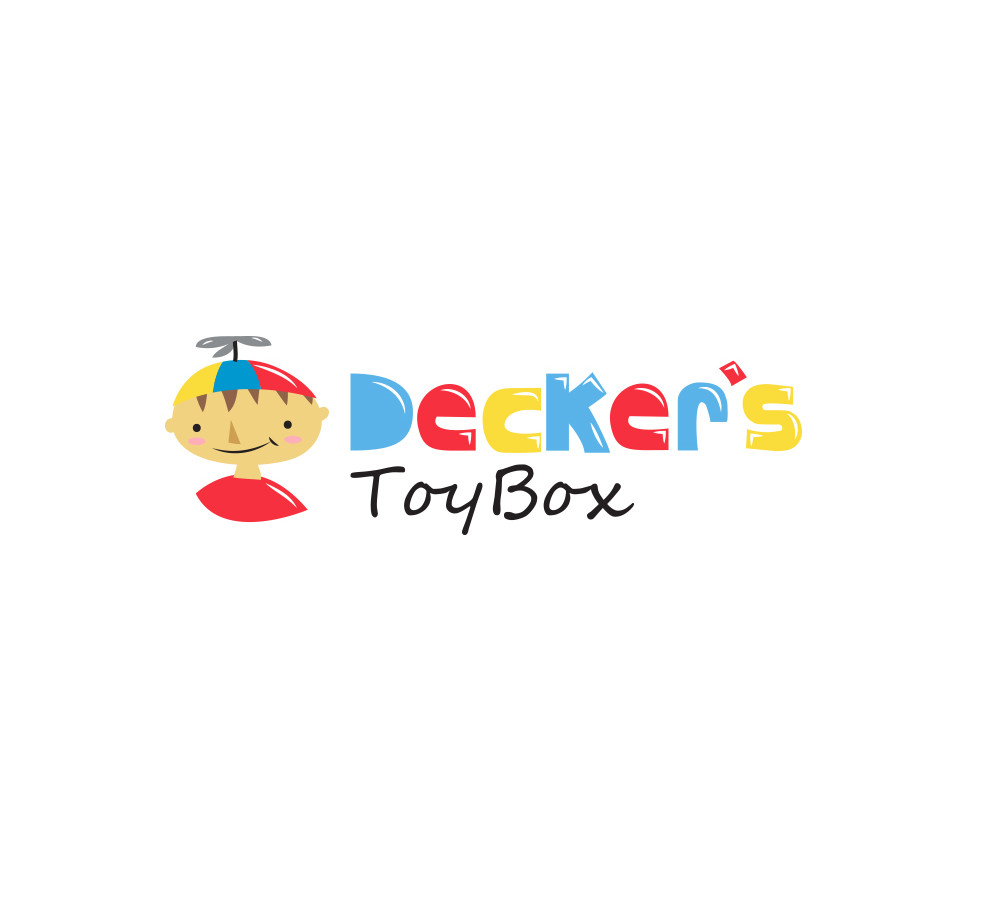 Concept logo design for a toy store.