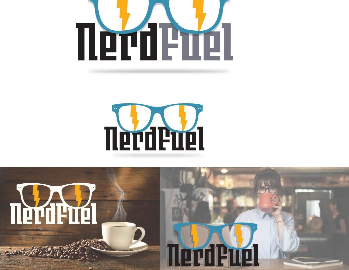 Concept logo design for a cafe library.