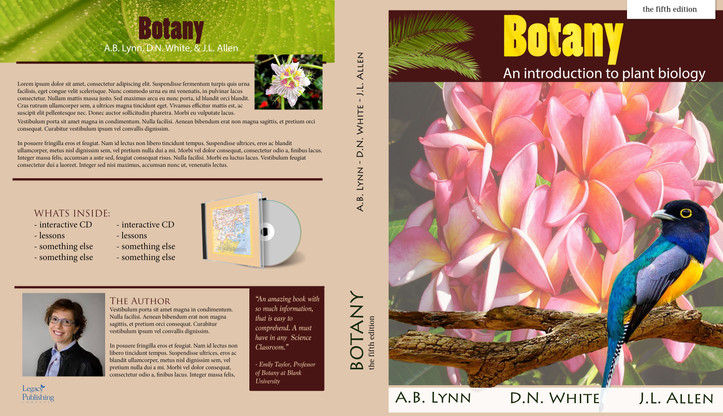 Educational book cover design