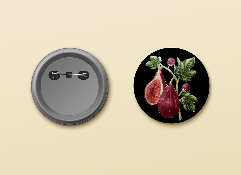 Commission fig button design.