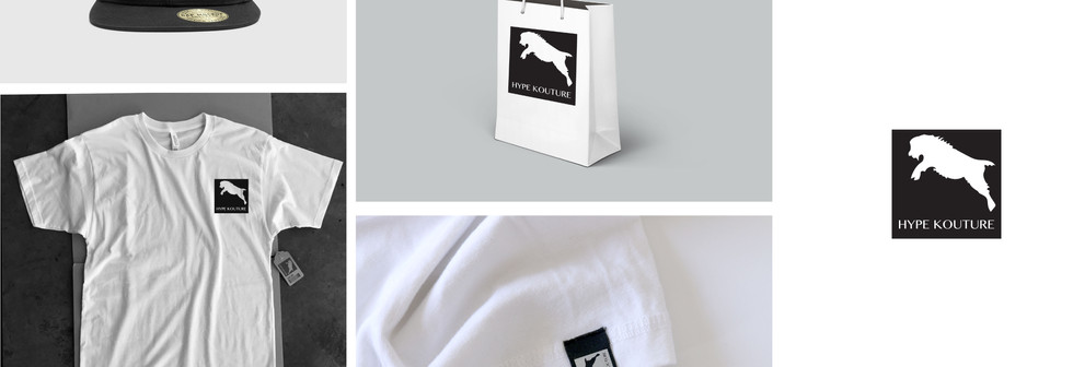 Concept logo design for a street wear fashion brand.