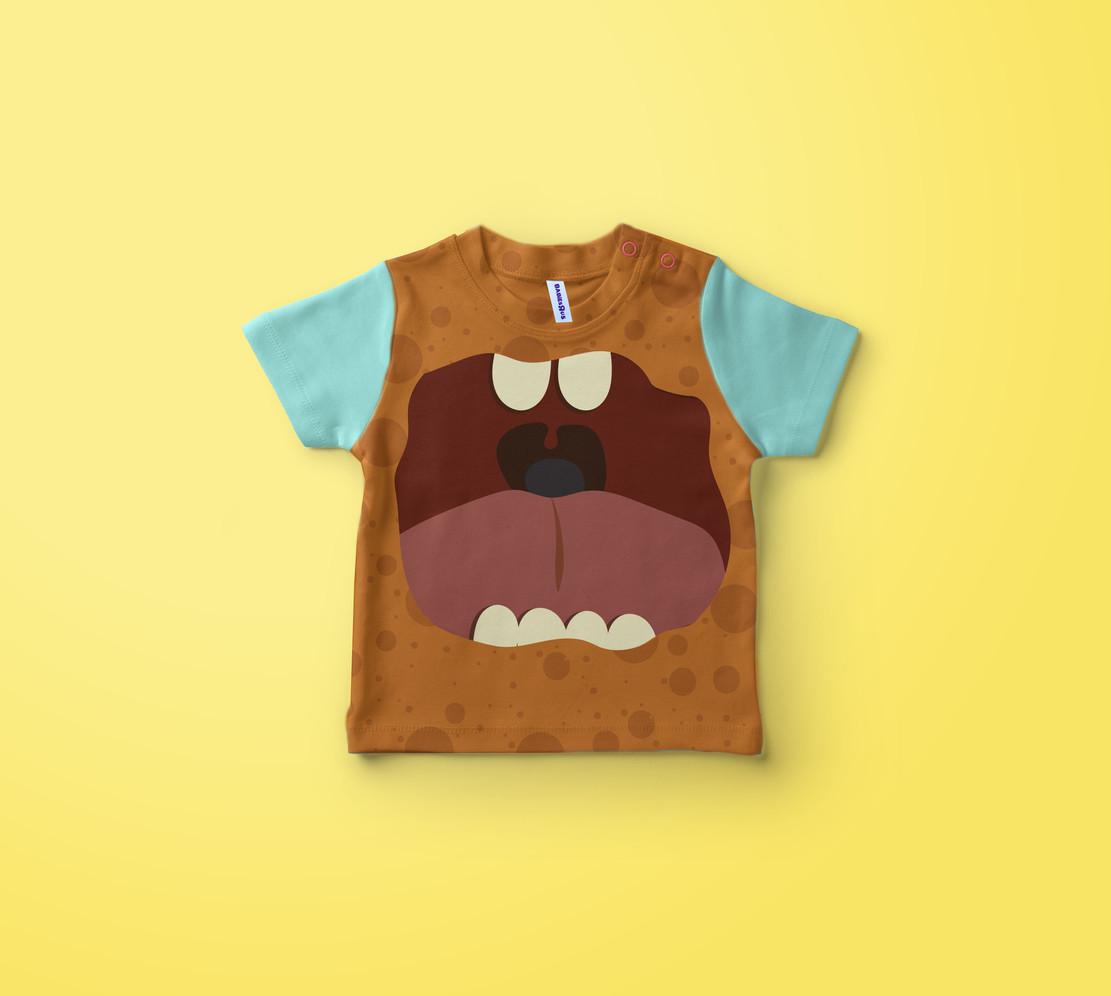 Halloween kid's clothing design 2.