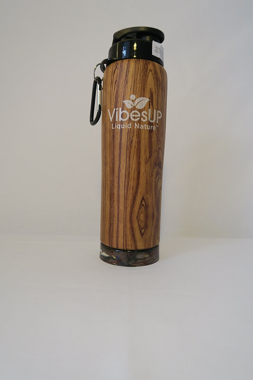 Earth Bottom Bottle - Lt Woodgrain 27oz