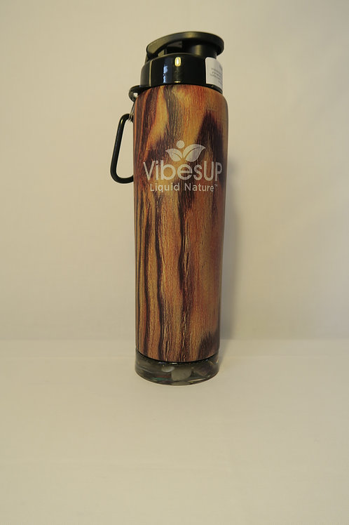 Earth Bottom Bottle Dk Woodgrain 27oz