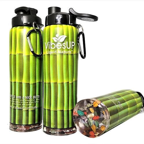 Earth Bottom Bottle Green Stalk Bamboo 27oz