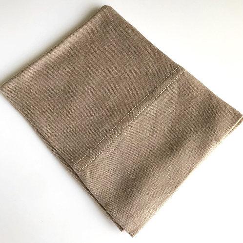 Cotton Jersey Underscarf - Oatmeal