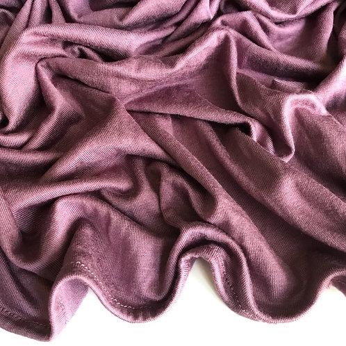 Premium Jersey Hijab - Deep Mauve