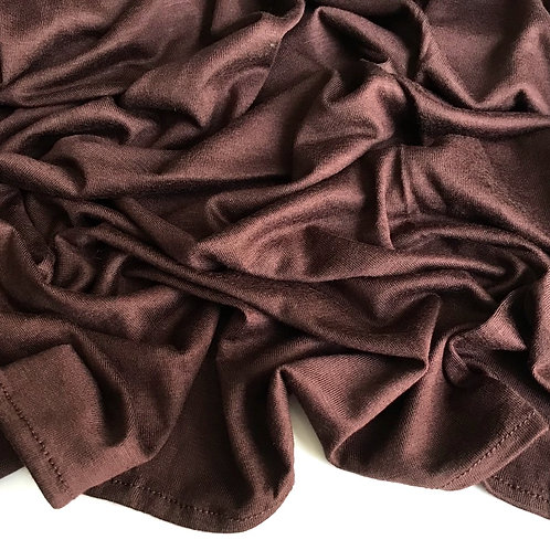 Premium Jersey Hijab - Cocoa