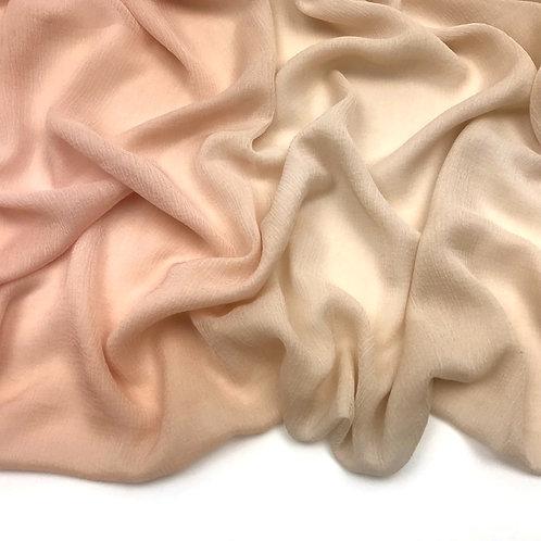 Allure Dual Tone Hijab - Butter