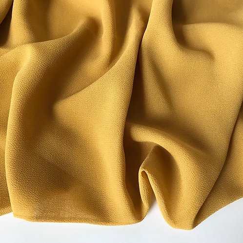 Chiffon Hijab - Mustard