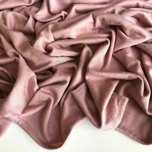Premium Jersey Hijab - Nude Blush