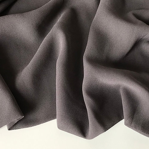 Chiffon Hijab - Deep Grey