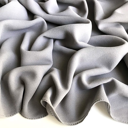 Premium Chiffon Hijab - Grey