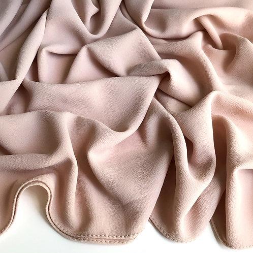 Premium Chiffon Hijab - Bone