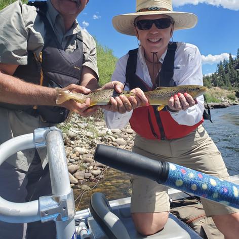 Dynamic Fly Fishing Duo
