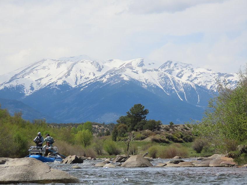 Fly Fishing the Arkansas River Buena Vista, Colorado