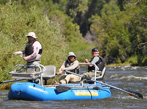Guided float fishing Arkansas River, Salida, Colorado, trout