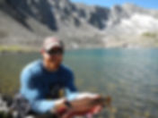 Cutthroat trout Colorado High Mountain Lakes