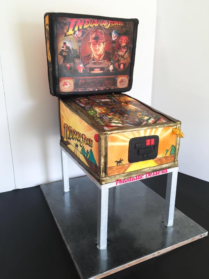 Indiana Jones Pinball Cake