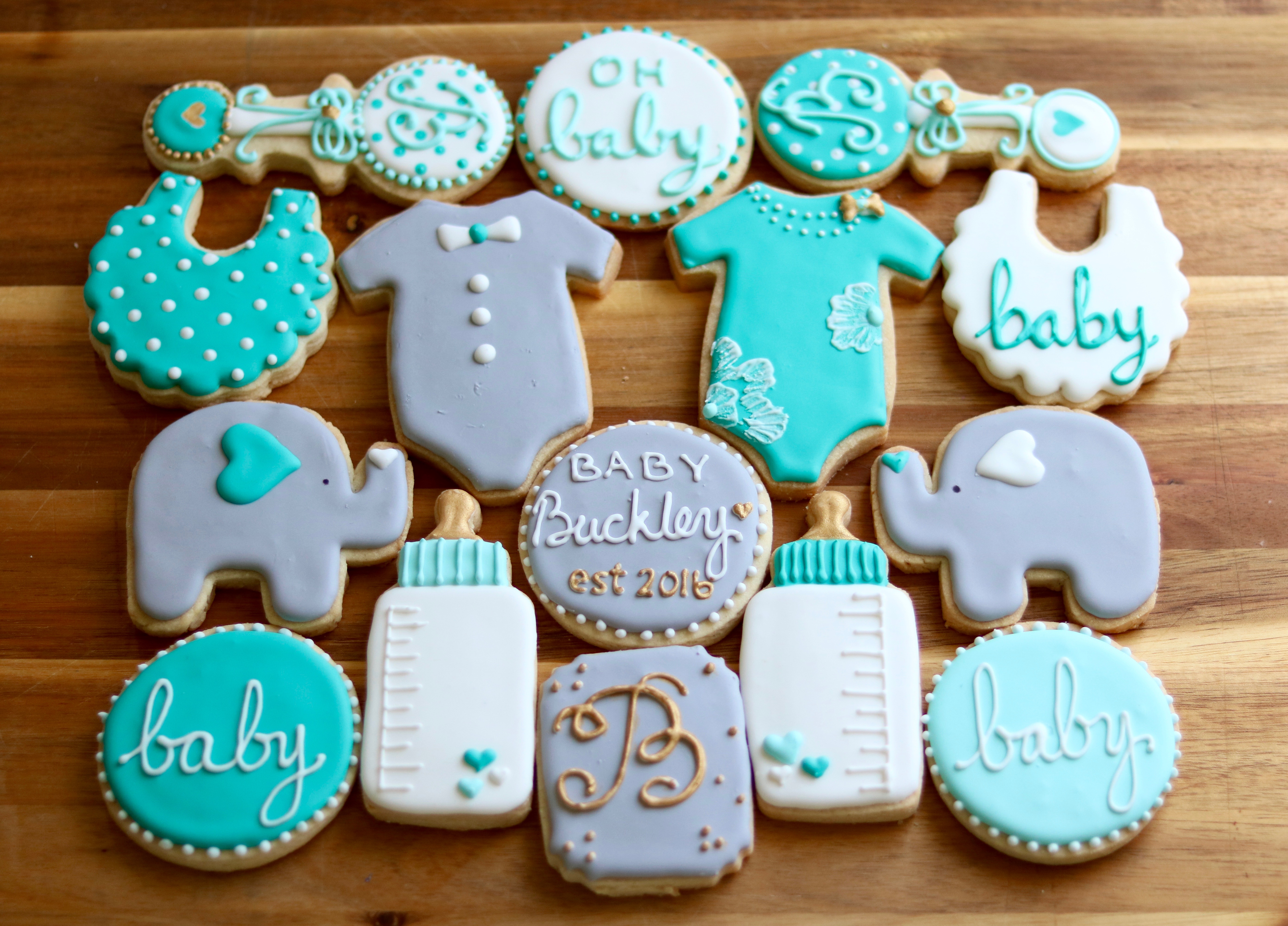 Baby Buckley Sugar Cookies
