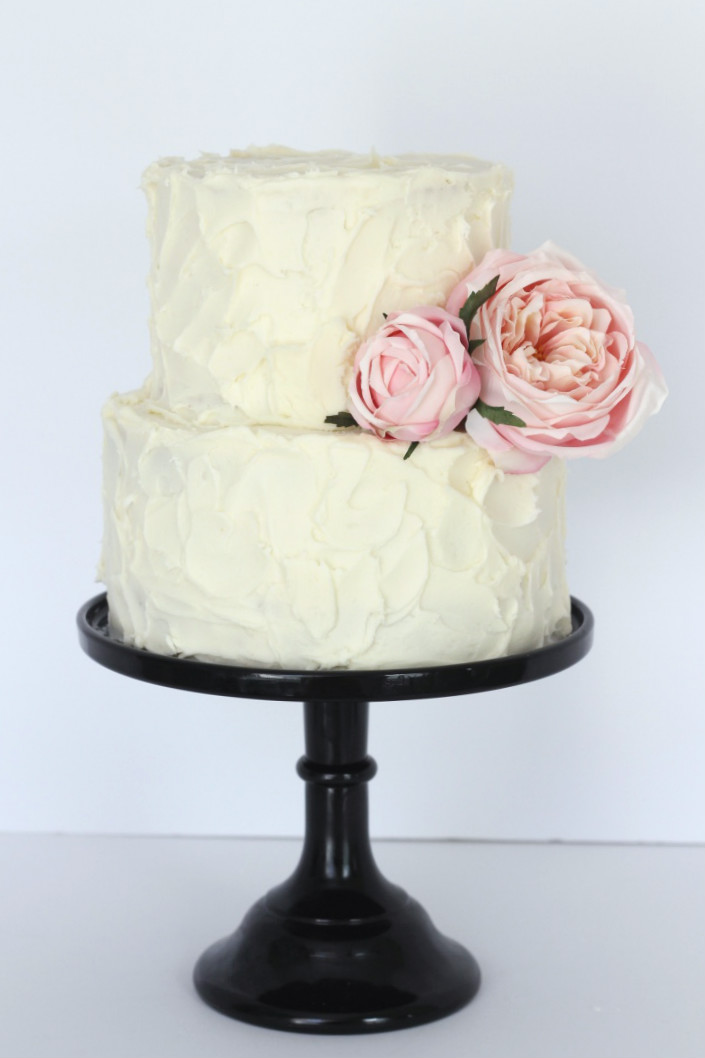 Rustic Buttercream with Peonies