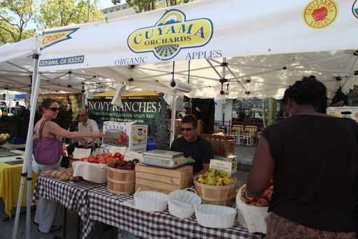 Cuyama Orchards Farmer's Market Stand
