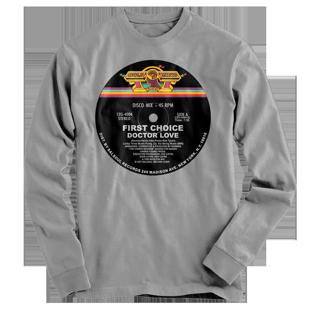 Musician Shirts - First Choice-Doctor Love Shirt   Throwbacks