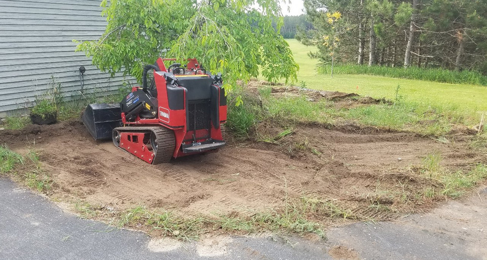 Tear out for sod