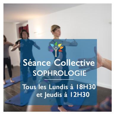 Séance groupe sophrologie