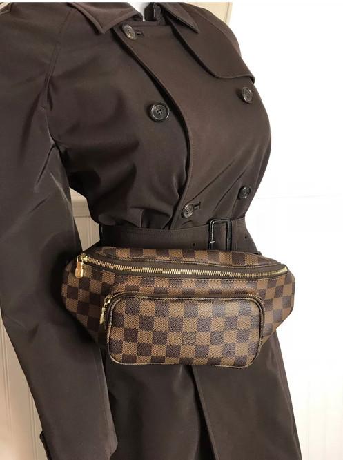 cd4508bf6d5a Auth Louis Vuitton Damier Ebene Melville Bumbag Waist Bag.  845.00    800.00. ❤️100% Authentic Melville Bum bag waist bag with dust bag❤ 🌹PRICE  is FIRM ...