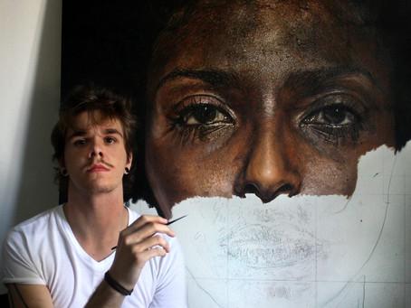 As pinturas hiper-realistas a óleo de Luiz Escañuela fazem dele um novo expoente no mundo das artes