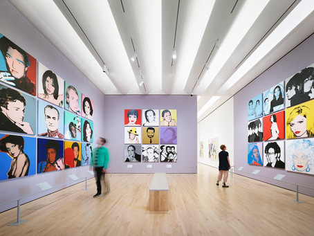 All faces of Andy Warhol