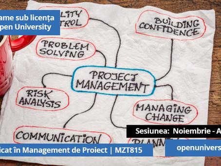 Iti doresti o certificare in Project Management? Alege solutia care ti se potriveste, avem peste 20