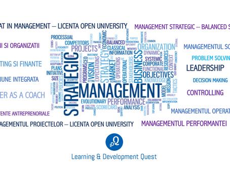 In luna mai incepe o noua serie de cursuri sub licenta Open University UK!