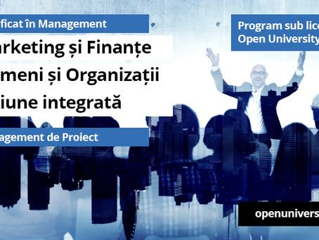 Incepe o noua serie de cursuri sub licenta Open University UK!