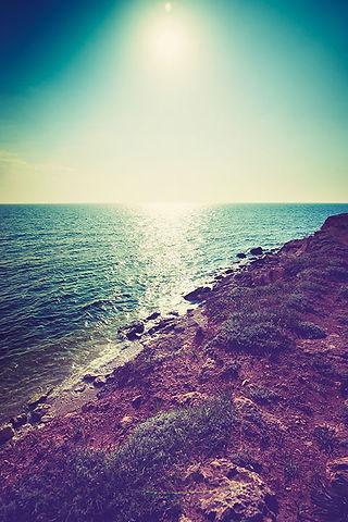 Coastline at Sunset