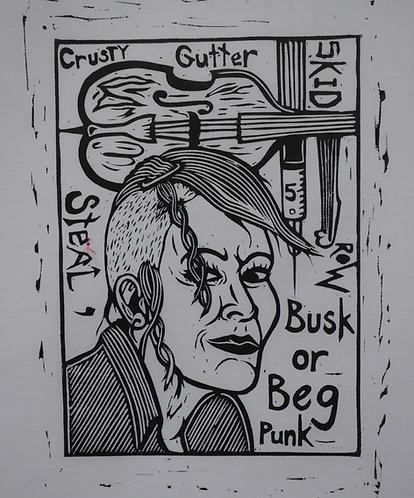Busk or Beg