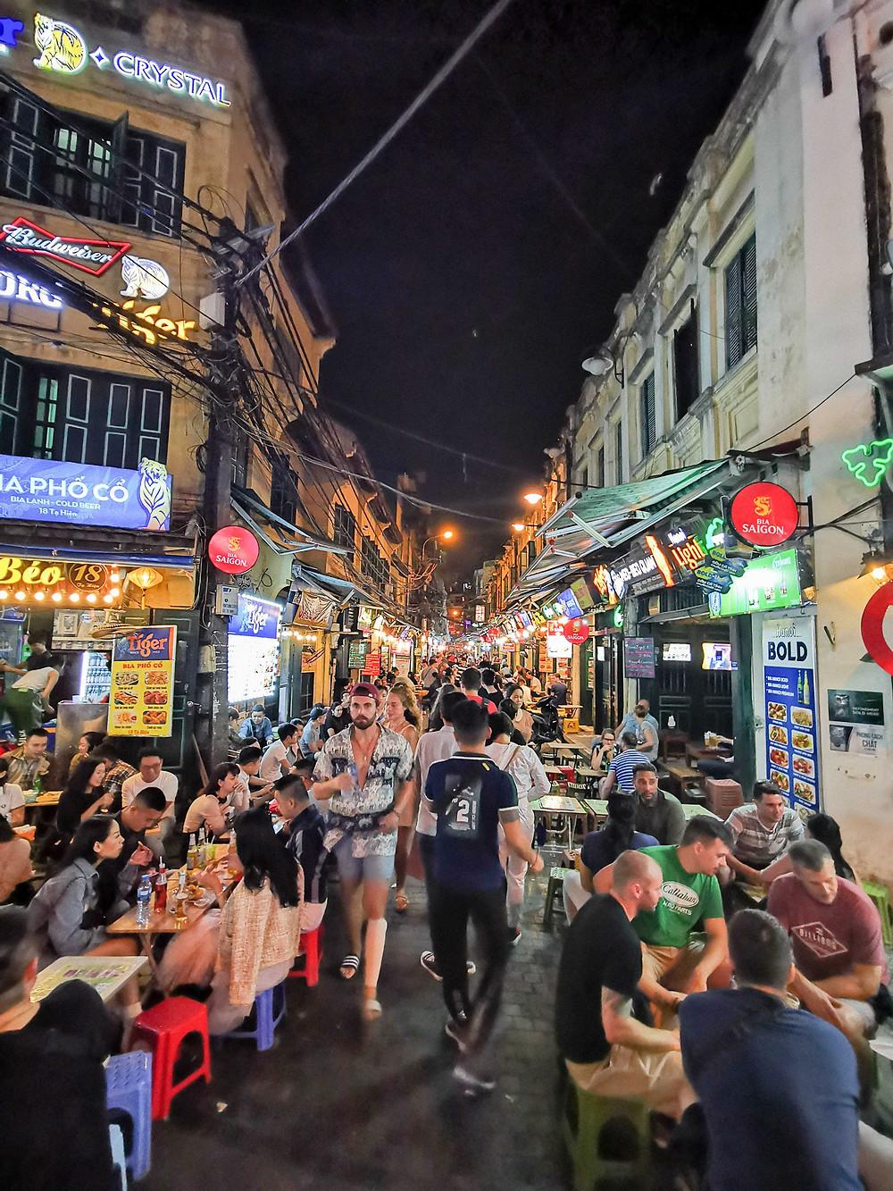 Beer street Hanoi