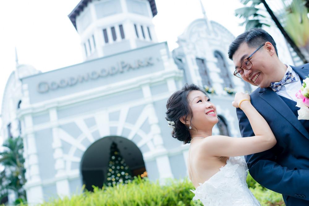 Goodwood Park Hotel wedding day photography