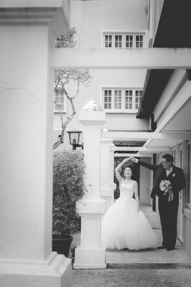 Goodwood Park Hotel wedding day photography