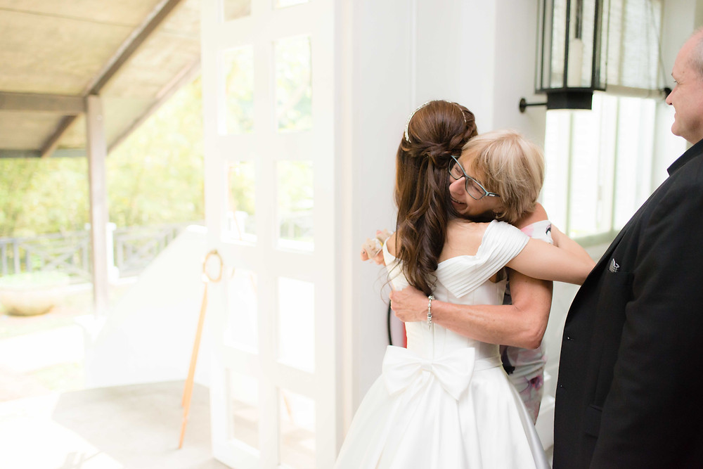 wedding day photoshoot at tamarind hill singapore