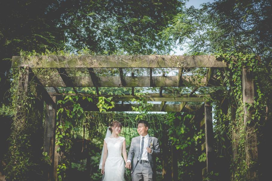 With Love, Dawson & Meizhen - Wedding Day @ Regent Hotel & Singapore Botanic Gardens