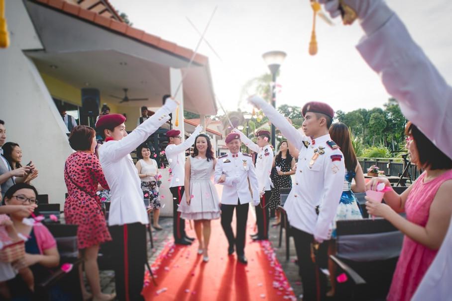 With Love, Ezekiel & Shiru - Wedding Day @ SAF Seaview Resort & Concorde Hotel Singapore