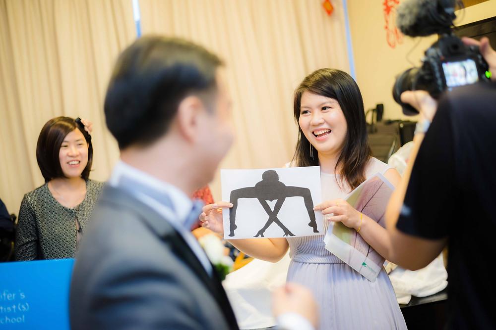gate crashing wedding day photography singapore